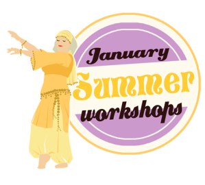 Ghawazee Moon Bellydance Summer Workshops