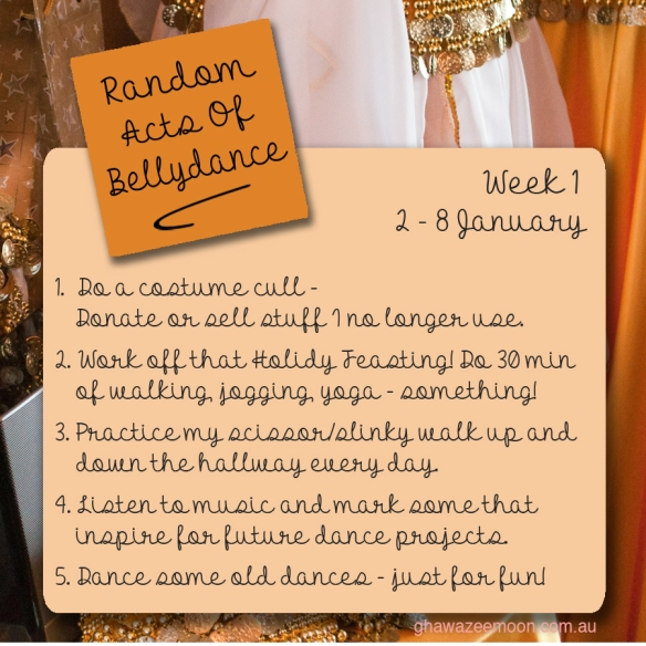 random acts of bellydance